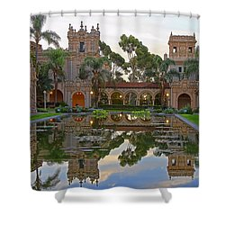 Shower Curtain featuring the photograph Before The Crowds by Gary Holmes