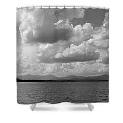 Before The Storm Shower Curtain by Barbara Bardzik