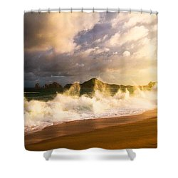 Shower Curtain featuring the photograph Before The Storm by Eti Reid