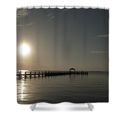 Before The Sunset Shower Curtain