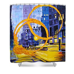 Before These Crowded Streets Shower Curtain by Joshua Morton