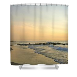 Beginning Again Shower Curtain
