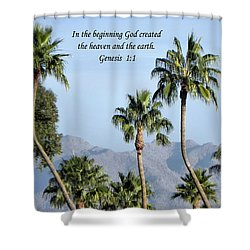 Shower Curtain featuring the photograph Beginning by Deb Halloran