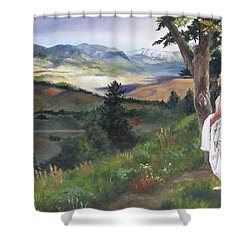Beginnings Shower Curtain