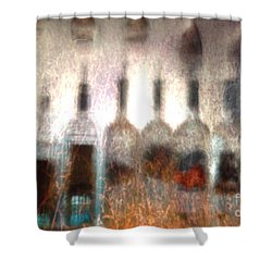 Behind The Bar Shower Curtain