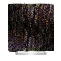 Behind The Curtain Shower Curtain by Christopher Gaston