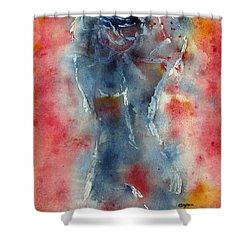 Behind The Screen   Shower Curtain by Elvira Ingram