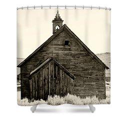Behind The Steeple By Diana Sainz Shower Curtain