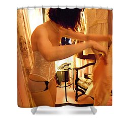 Being A Woman 1 Shower Curtain