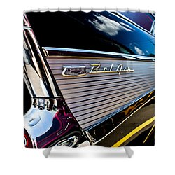 Shower Curtain featuring the photograph Bel Air Reflections by Joann Copeland-Paul