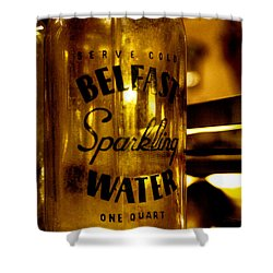 Belfast Sparkling Water Shower Curtain by David Patterson