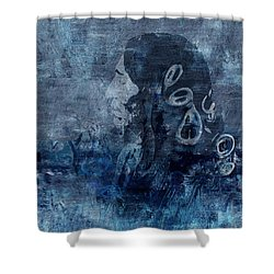Belief Shower Curtain by Jack Zulli