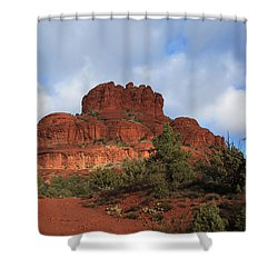 Bell Rock Shower Curtain by Donna Kennedy