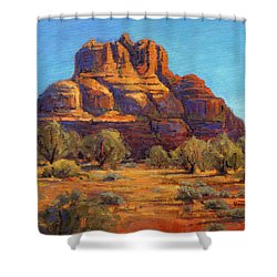 Bell Rock, Sedona Arizona Shower Curtain