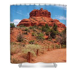 Bell Rock - Sedona Shower Curtain by Dany Lison