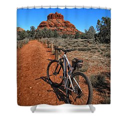 Bell Rock Trail Shower Curtain