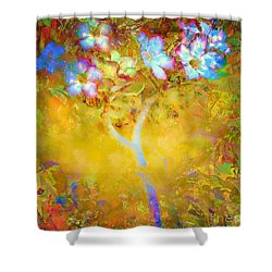 Bella Flora-tropicala Shower Curtain