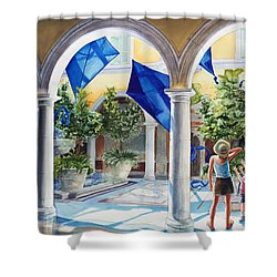 Bellagio Kite Flight Shower Curtain