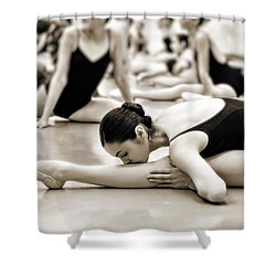 Belle Ballerina Shower Curtain by Bill Howard