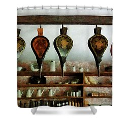 Bellows In General Store Shower Curtain by Susan Savad