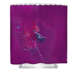 Bells Shower Curtain by Carol Lynch