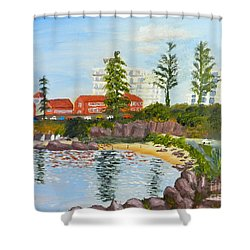 Belmore Basin From The North Sea Wall Shower Curtain