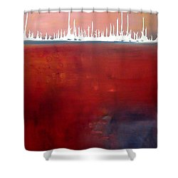 Below Shower Curtain