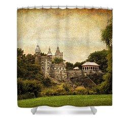 Belvedere Castle Shower Curtain by Jessica Jenney