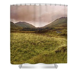 Ben Lawers - Scotland - Mountain - Landscape Shower Curtain by Jason Politte
