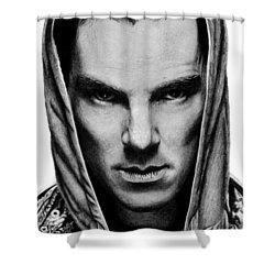 Benedict Cumberbatch Shower Curtain by Kayleigh Semeniuk