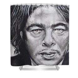 Benicio Del Toro Shower Curtain