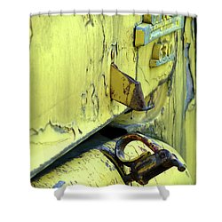 Shower Curtain featuring the photograph Bent by Newel Hunter