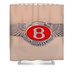 Bentley Emblem Shower Curtain