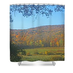 Berkshires Colors  Shower Curtain