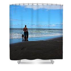 Best Friends Boogie Shower Curtain by Venetia Featherstone-Witty