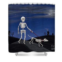 Best Friends Forever Shower Curtain