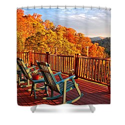 Best View In Town  Shower Curtain by Lynn Bauer