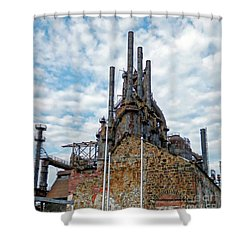 Bethlehem Steel # 2 Shower Curtain