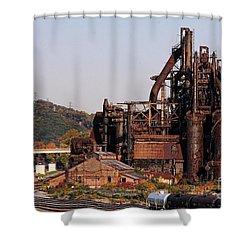 Bethlehem Steel # 8 Shower Curtain