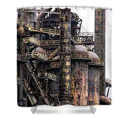 Bethlehem Steel Series Shower Curtain