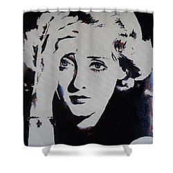 Bette Davis Shower Curtain