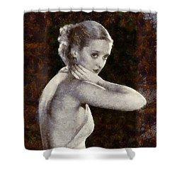 Bette Davis Eyes Shower Curtain