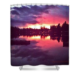 Between Heaven And Earth New Edit Shower Curtain