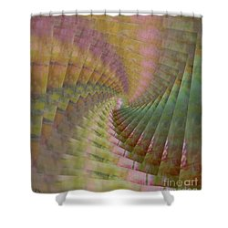 Between Heaven And Earth Shower Curtain by PainterArtist FIN