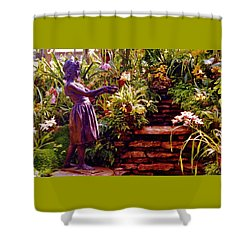 Between The Steps Shower Curtain