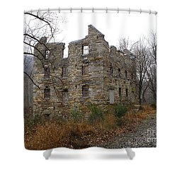 Shower Curtain featuring the photograph Beverly Chapman's Mill by Jane Ford