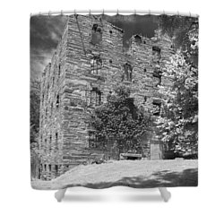 Beverly Mill Shower Curtain by Guy Whiteley