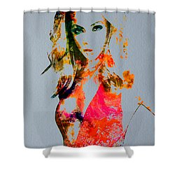 Beyonce Irreplaceable Shower Curtain