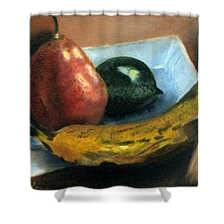 Beyond Banana Nut Bread Shower Curtain