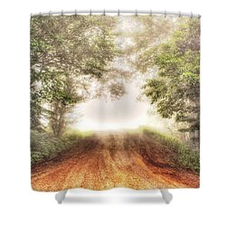Beyond Shower Curtain by Dan Stone